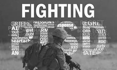 Fighting ptsd veterans