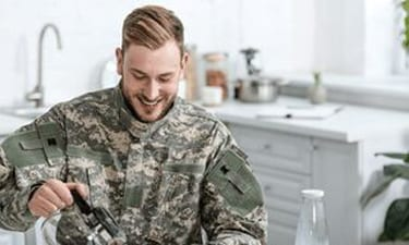 service members uniform