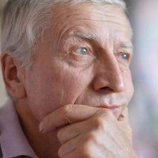 adult senior man depression